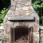 Stoney Brook Stone Fireplace